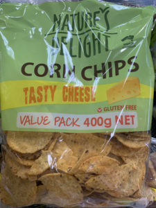 Corn Chips – Cheese – Organic