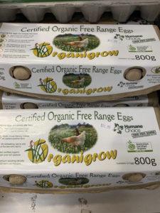 Eggs – Organic Free Range (1 Dozen)