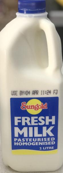 Milk – Full Cream 2 Litre