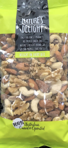 Nature's Delight – Natural Nut Mix (500gm)
