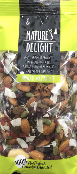 Nature's Delight – Trail Mix (500gm)