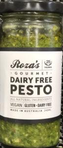 Roza's Dairy Free Pesto (240ml)